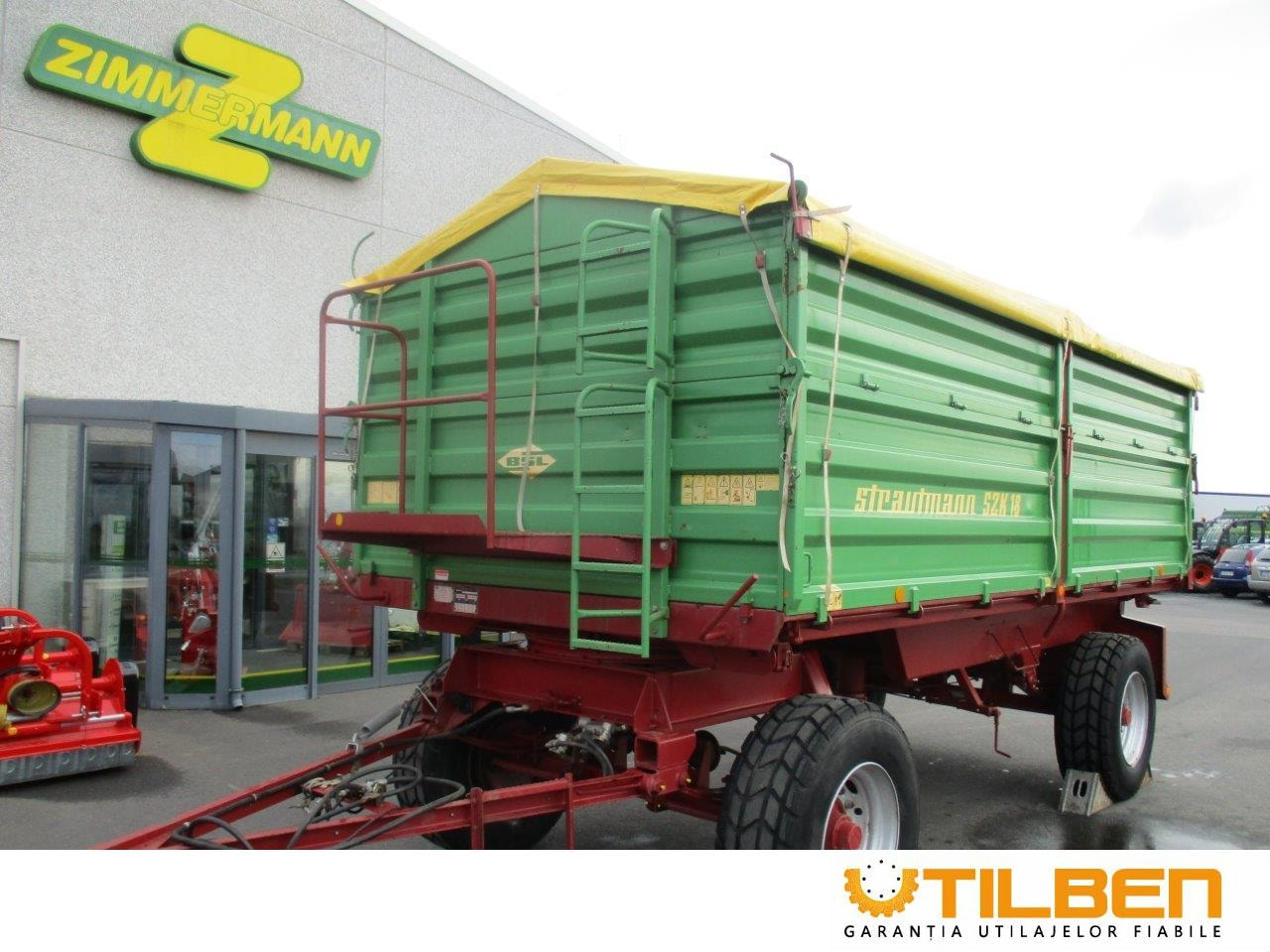 Remorci Agricole  Strautmann SZK 18/40