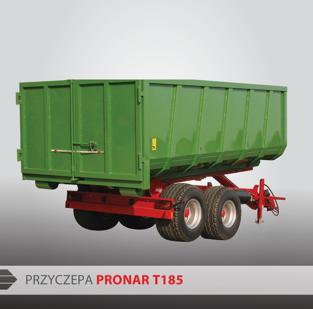 Remorci Agricole  Pronar T 185